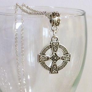 Jewelry - Celtic cross necklace